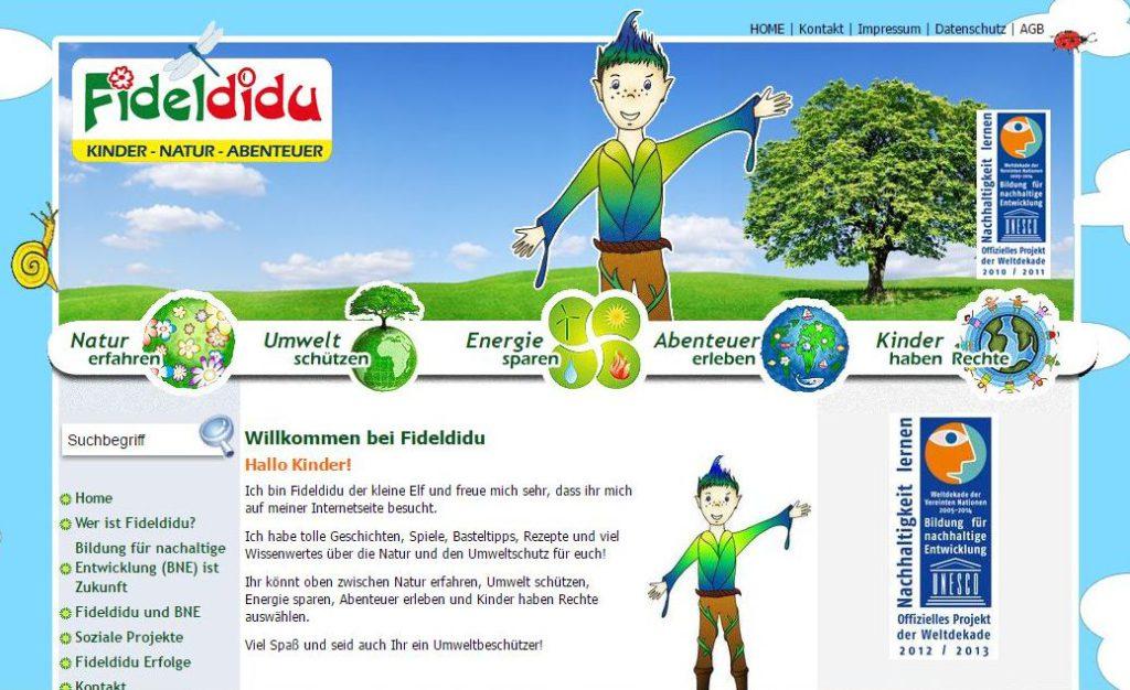 website für kinder  natur umweltschutz und kinderrechte